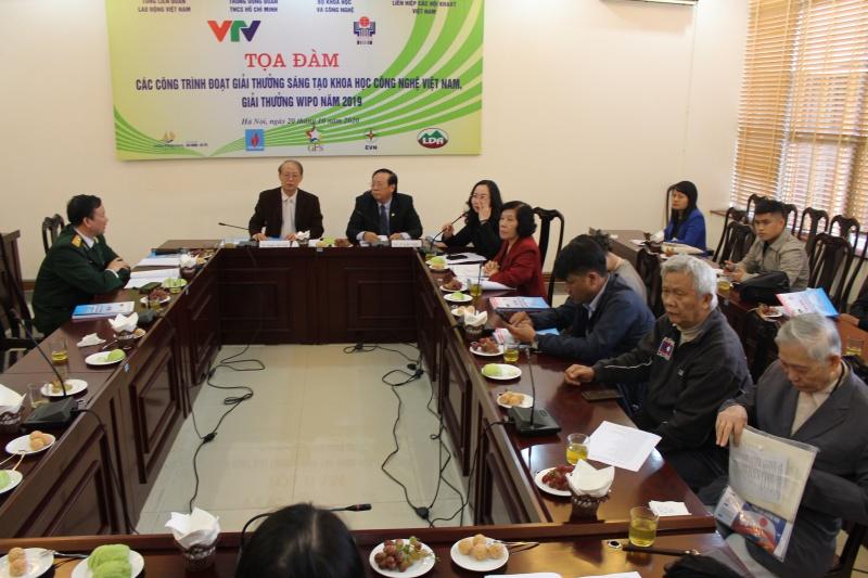 Nhiều công trình đoạt giải thưởng sáng tạo khoa học công nghệ Việt Nam, giải thưởng WIPO năm 2019