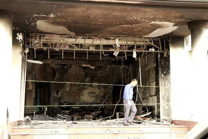 Kịp thời dập tắt vụ cháy tại trụ sở Công ty Bảo Minh Yên Bái 
