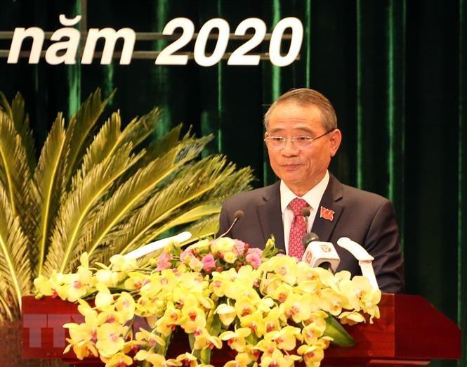 Đồng chí Trương Hòa Bình dự, chỉ đạo Đại hội Đảng bộ thành phố Đà Nẵng lần thứ XXII