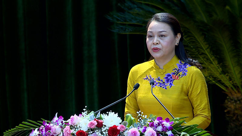 Đồng chí Nguyễn Thị Thu Hà được bầu tiếp tục giữ chức Bí thư Tỉnh ủy Ninh Bình