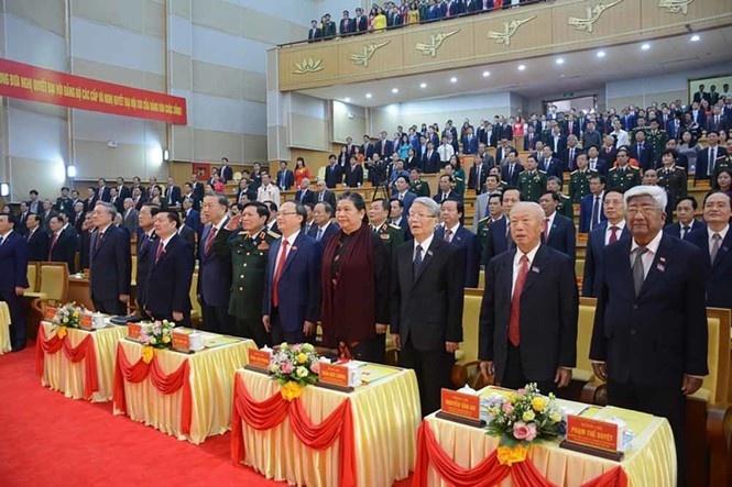 Khai mạc Đại hội Đảng bộ tỉnh Hưng Yên lần thứ XIX, nhiệm kỳ 2020 - 2025