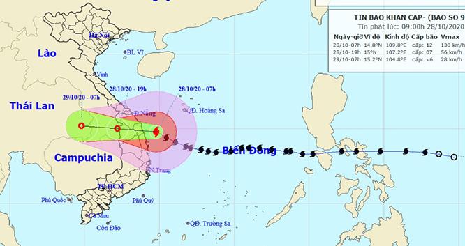 Bão số 9: Gia Lai bắt đầu có mưa và gió tương đối mạnh, học sinh toàn tỉnh nghỉ học