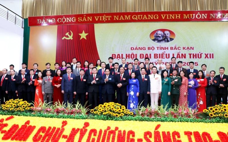 Bế mạc Đại hội Đảng bộ tỉnh Bắc Kạn lần thứ XII