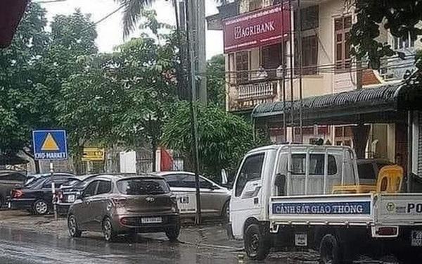 Chi nhánh Ngân hàng Agribank huyện Lạc Sơn bị cướp hơn 200 triệu đồng