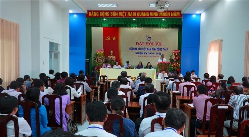Đại hội lần thứ VII Hội Nhà báo tỉnh Đồng Tháp