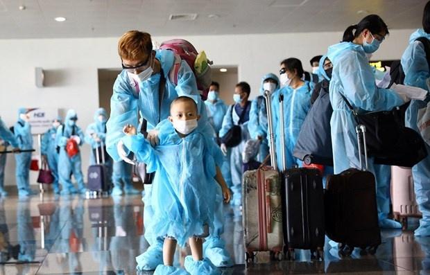 Đưa gần 350 công dân Việt Nam từ Liên bang Nga về nước