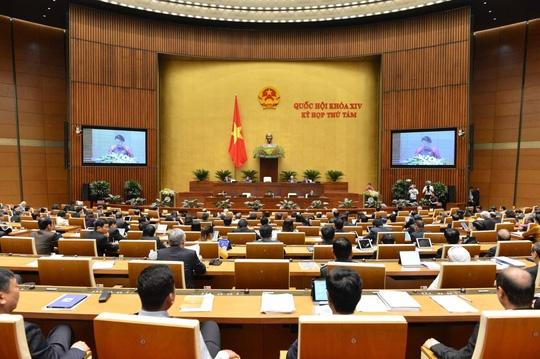 Kỳ họp thứ 8, Quốc hội khóa XIV: Thực hiện quy trình miễn nhiệm Chủ nhiệm Ủy ban Pháp luật của Quốc hội và Bộ trưởng Bộ Y tế