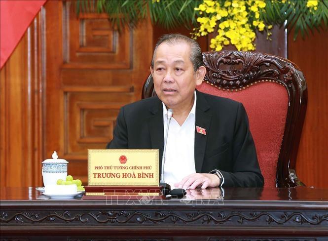 Phó Thủ tướng Trương Hòa Bình: Đẩy nhanh tiến trình đưa Đại học Luật trở thành trường trọng điểm đào tạo cán bộ về pháp luật