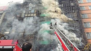 """Kỳ họp thứ 8, Quốc hội khóa XIV: Xây dựng chiến lược """"phòng, chống bà hoả"""" tại khu đô thị có nguy cơ cháy, nổ cao"""