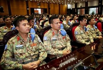 Việt Nam tham gia gìn giữ hòa bình Liên hợp quốc: Bệnh viện dã chiến cấp 2 số 2 lên đường thực hiện nhiệm vụ tại Nam Sudan