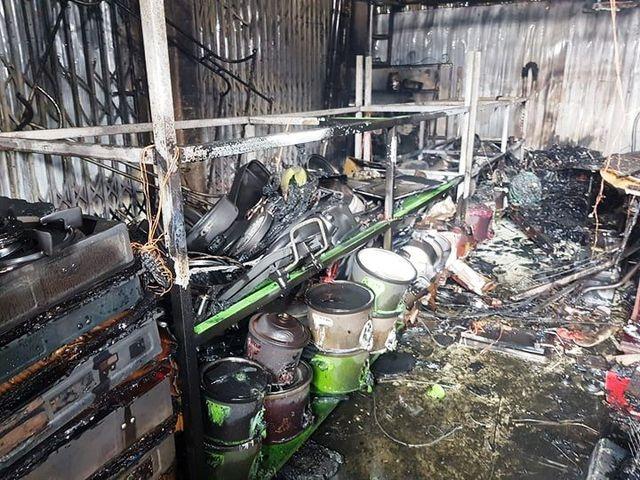 Xác định nguyên nhân gây cháy chợ Gián, Ninh Bình