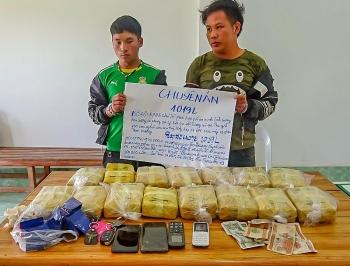 pha chuyen an bat giu 2 doi tuong mua ban van chuyen trai phep so luong lon ma tuy tong hop