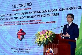 ra mat trung tam hanh dong quoc gia khac phuc hau qua chat doc hoa hoc va moi truong