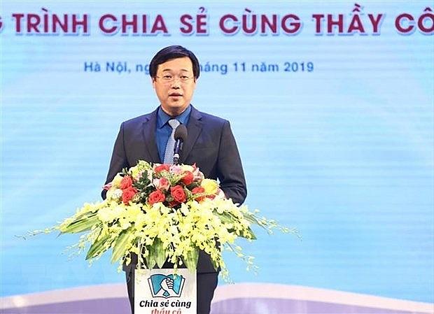 chuong trinh chia se cung thay co nam 2019 tuyen duong 63 giao vien vung dan toc thieu so