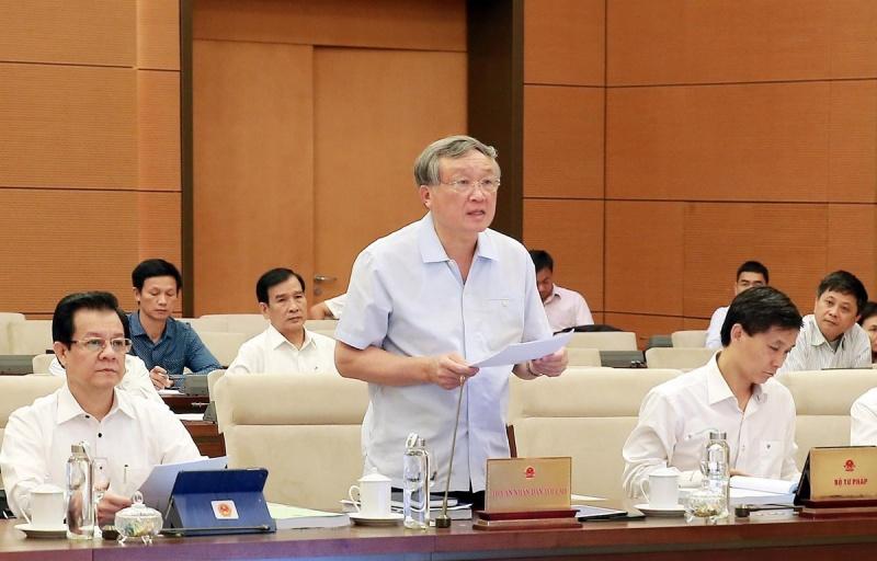 Kỳ họp thứ 8, Quốc hội khóa XIV: Hòa giải, đối thoại sẽ giảm áp lực cho ngành Tòa án