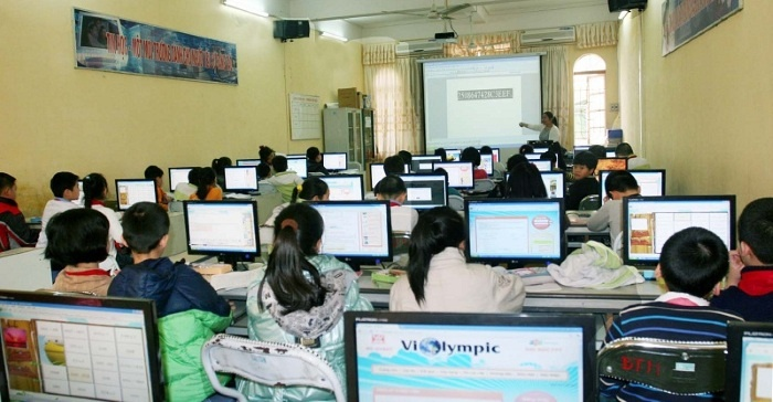 Đẩy mạnh ứng dụng công nghệ thông tin trong ngành giáo dục