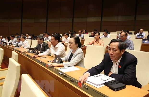 Thông qua Luật sửa đổi, bổ sung một số điều của Luật Tổ chức Chính phủ và Luật Tổ chức chính quyền địa phương
