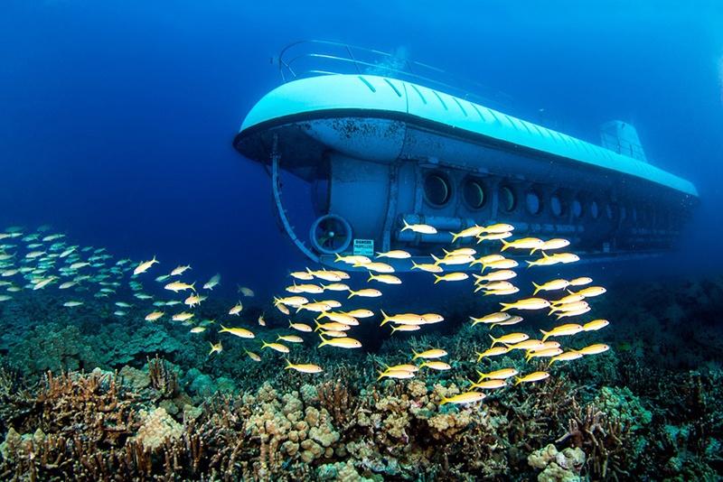 Thí điểm dịch vụ tàu lặn tại vịnh Nha Trang
