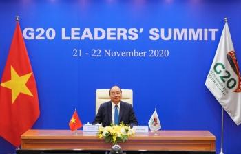 thu tuong nguyen xuan phuc du hoi nghi thuong dinh g20 truc tuyen