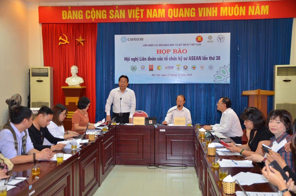Hội nghị Liên đoàn các tổ chức kỹ sư ASEAN lần thứ 38 diễn ra từ ngày 18-26/11 tại Hà Nội
