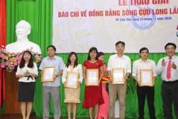 trao giai bao chi ve dong bang song cuu long nam 2020