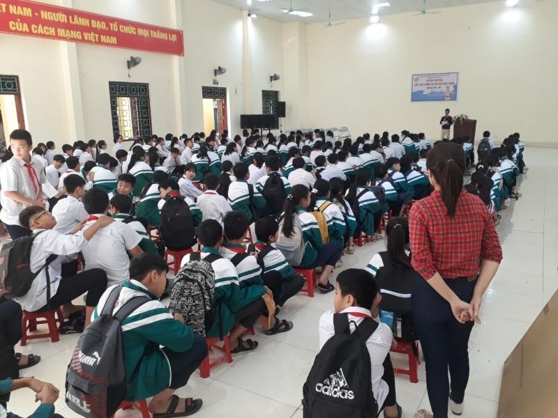 Tuyên truyền Luật An toàn giao thông cho học sinh trên địa bàn tỉnh Bắc Ninh