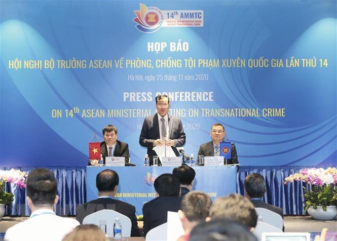 Bộ Công an Việt Nam chủ trì Hội nghị Bộ trưởng ASEAN về phòng, chống tội phạm xuyên quốc gia lần thứ 14