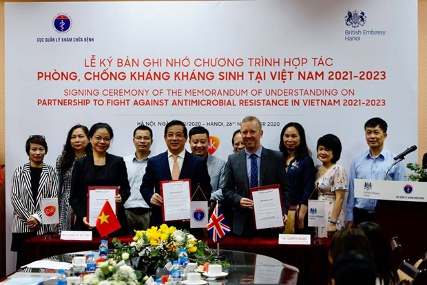Việt Nam hợp tác với Vương quốc Anh để phòng, chống kháng thuốc