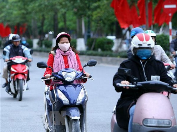 Không khí lạnh tiếp tục tăng cường mạnh đến Bắc Bộ và Bắc Trung Bộ