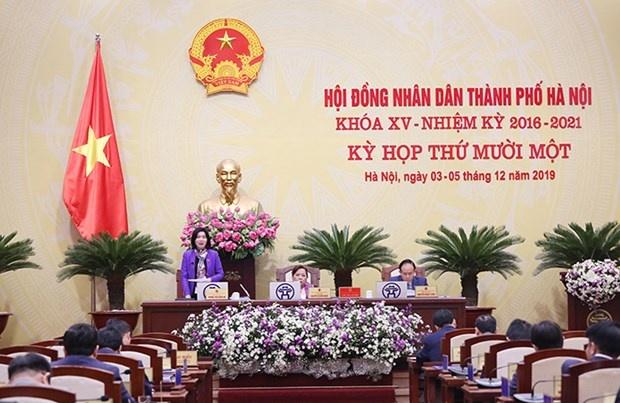 Bế mạc Kỳ họp thứ 11, HĐND thành phố Hà Nội khóa XV