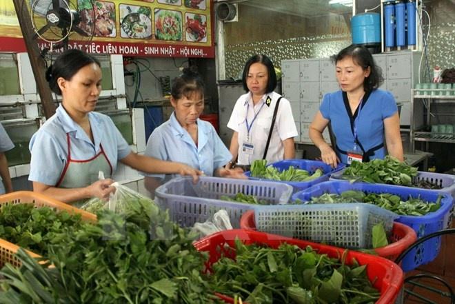 Phát hiện 736 cơ sở không bảo đảm an toàn thực phẩm
