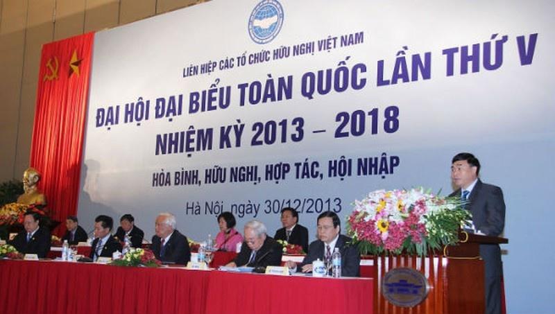 khai mac dai hoi dai bieu toan quoc lan thu vi nhiem ky 2019 2024 lien hiep cac to chuc huu nghi viet nam