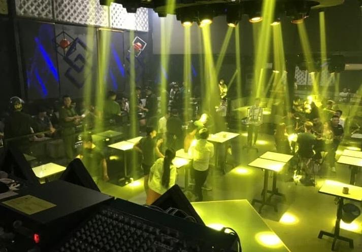 Tiếp tục phát hiện nhiều đối tượng sử dụng ma tuý trong quán bar ở Đồng Nai