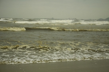 Vụ nước biển đổi màu ở Quảng Ngãi: Một trong bốn mẫu nước biển có nồng độ pH vượt ngưỡng cho phép