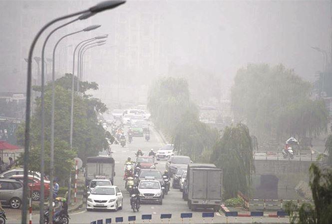 Trên 50 điểm quan trắc không khí ở miền Bắc ở ngưỡng rất có hại cho sức khỏe