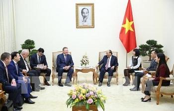 Thủ tướng Nguyễn Xuân Phúc tiếp Tổng giám đốc Công ty dầu khí Zarubezhneft, Liên bang Nga