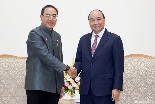 Thủ tướng Nguyễn Xuân Phúc tiếp Đại sứ Thái Lan