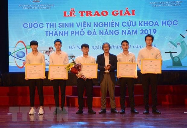 """""""Thiết kế thủy bộ thu gom rác bãi biển"""" đạt giải nhất cuộc thi nghiên cứu khoa học Đà Nẵng"""