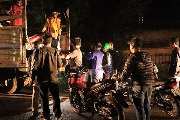 Bắt nhóm thanh, thiếu niên tổ chức đua xe trái phép tại thành phố Bảo Lộc