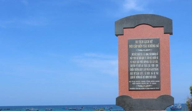 Khánh thành Di tích Bến tàu không số Lộ Diêu (Bình Định)