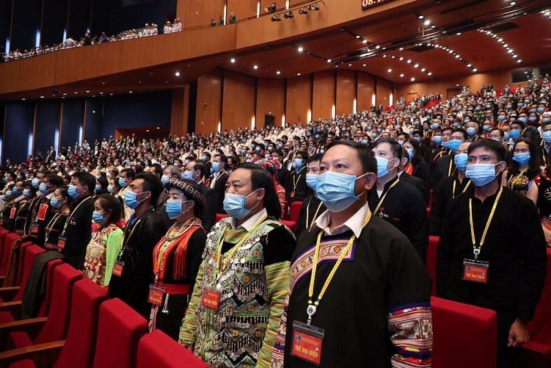 Khai mạc trọng thể Đại hội Đại biểu toàn quốc các dân tộc thiểu số Việt Nam lần thứ II