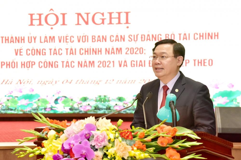 Hà Nội phối hợp với Bộ Tài chính tháo gỡ vướng mắc, khó khăn về thu chi, tài chính
