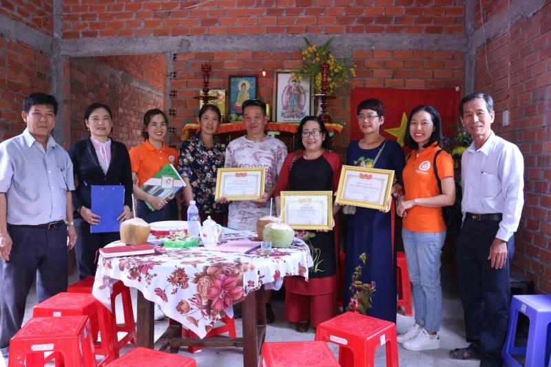 Địa ốc Long Phát trao tặng nhà tình thương cho gia đình hộ nghèo tại Bến Tre