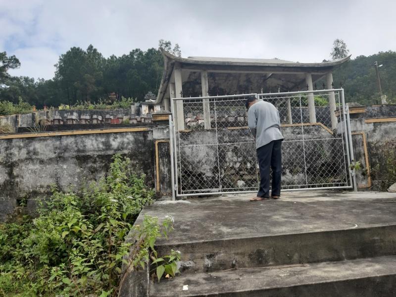 Vụ xây nhà che mộ trái phép: Văn phòng Chính phủ chuyển đơn khiếu nại về tỉnh Nghệ An