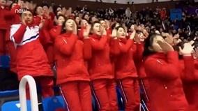 Đội quân mỹ nữ Triều Tiên 'đốt cháy' khán đài Olympics