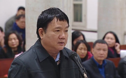 Ông Đinh La Thăng hầu tòa lần hai