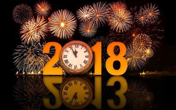 Tập ảnh đẹp 'Chúc mừng năm mới 2018'