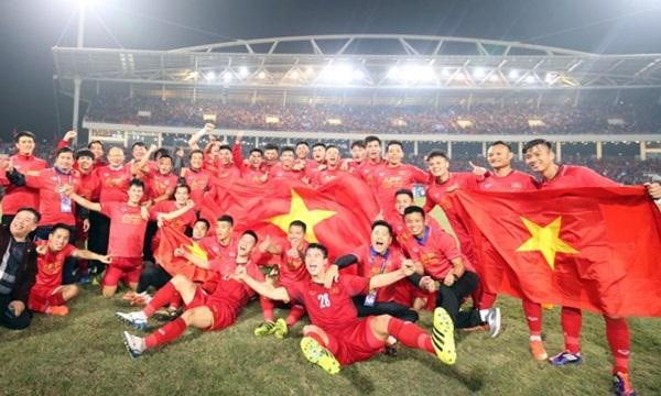 Việt Nam vô địch Việt  AFF Cup 2018 với tỷ số chung cuộc (3-2)