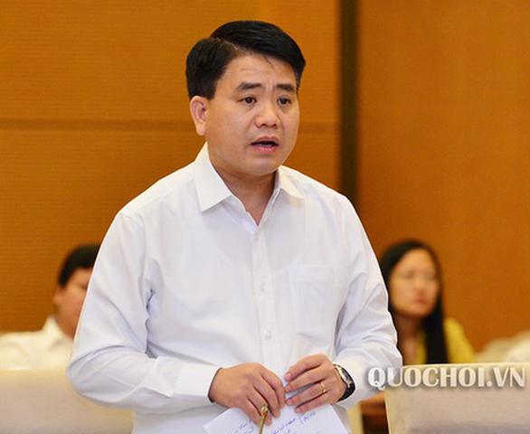 Chủ tịch Hà Nội Nguyễn Đức Chung bị tạm đình chỉ công tác