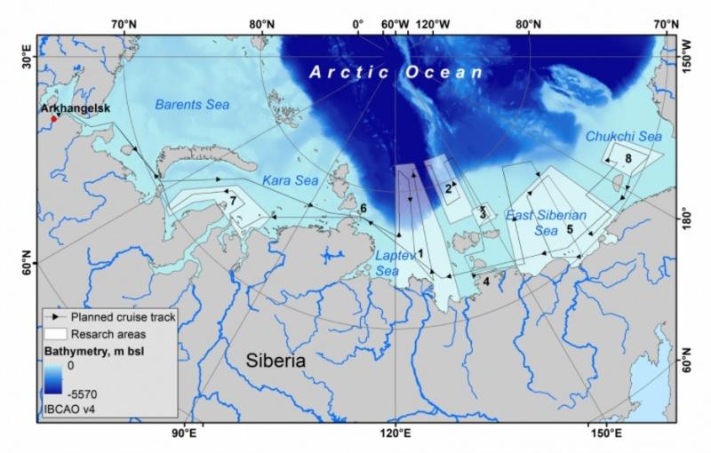 """Mỏ mê-tan """"khổng lồ đang ngủ yên"""" ở Bắc Cực bắt đầu giải phóng"""